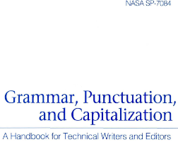 NASA Handbook for Technical Writers and Editors