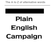 Plain Language Alternatives